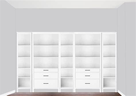 ikea bookcase built in hack diy built in bookcase reveal an ikea hack studio 36