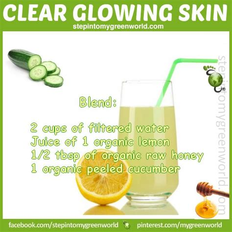 Detox Help Skin comes from within an anti inflammatory drink that