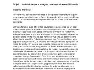 Lettre Motivation Ecole De Patisserie Lettre De Motivation Formation Professionnelle Par Lettreutile