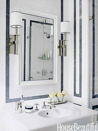 17 Best Images About Powder Rooms On Pinterest Mirrored His And Hers Bathroom Accessories