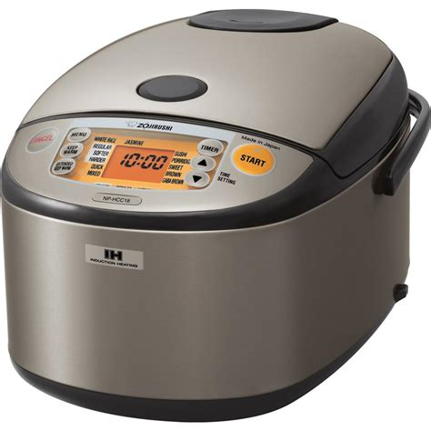 Rice Cooker Zojirushi zojirushi non stick interior rice cooker np hcc18 the