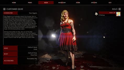 killing floor 2 perfect character for me by