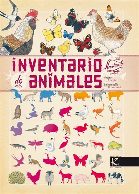 inventario ilustrado de los inventario de animales biblioabrazo