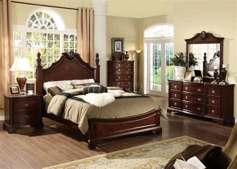 dark cherry wood bedroom furniture cm7310l carlsbad bedroom in dark cherry w options