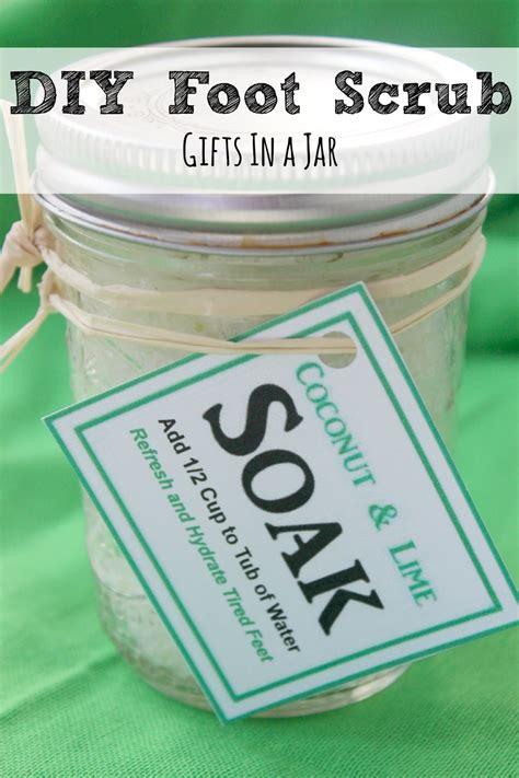 Diy Detox Scrub by Diy Foot Soak Craftbnb