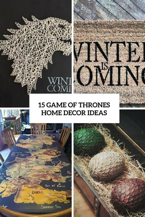 home decor game 15 game of thrones home d 233 cor ideas shelterness