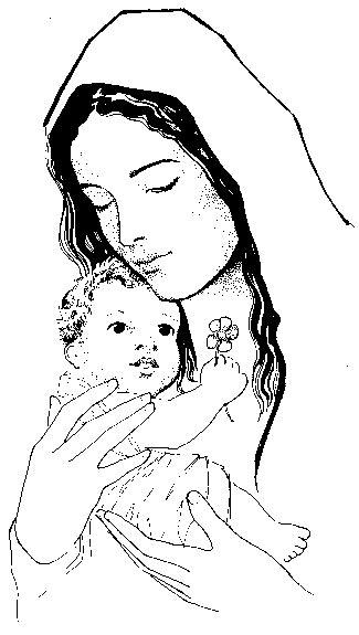 peques y pecas maria con jesus peques y pecas colorea a maria con jesus