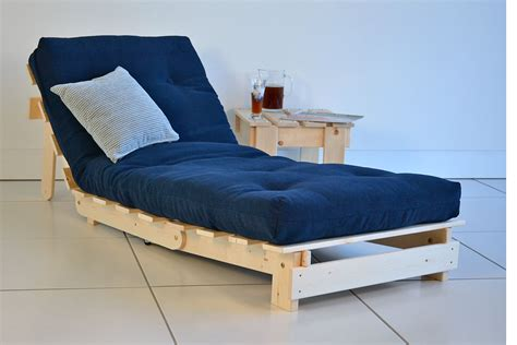 how to make a futon bed modern futon chairs with blue seat futons pinterest
