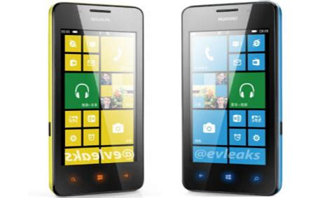 Hp Huawei Ascend W2 huawei ascend w2 leaks tipped for june launch looks like yellow nokia lumia 620 gizbot