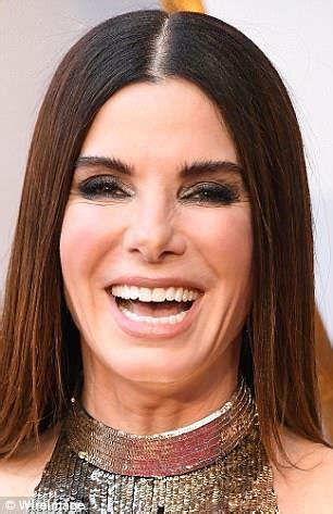 sandra bullock hits back at rumors she had fillers ahead