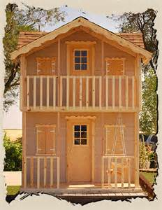 Outside Playhouse Plans Outdoor Playhouse Plans