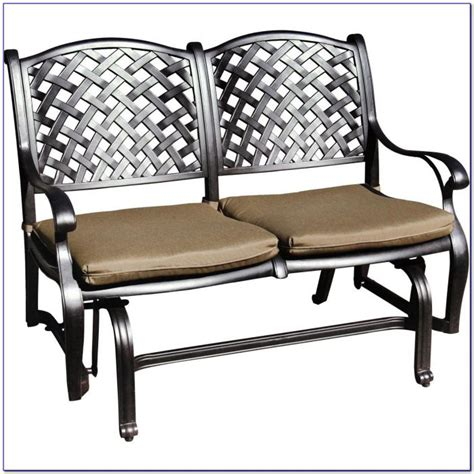 outdoor loveseat glider cushions patio glider bench cushions sale merax patio outdoor