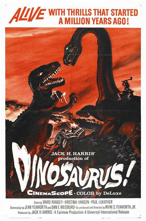 film dinosaurus download dinosaurus vintage movie poster free vintage posters