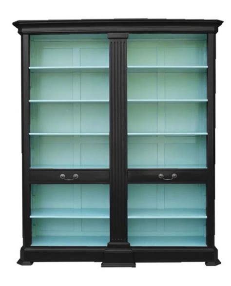 Bookcase With Glass Doors by Best 25 Black Bookcase Ideas On Bookcases