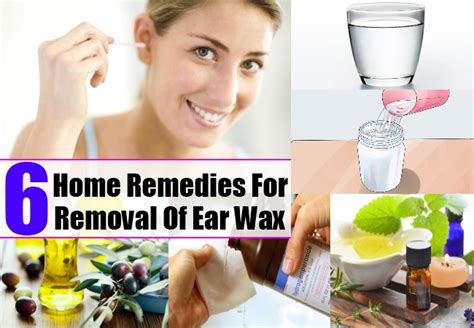 6 home remedies for removal of ear wax health care a to z