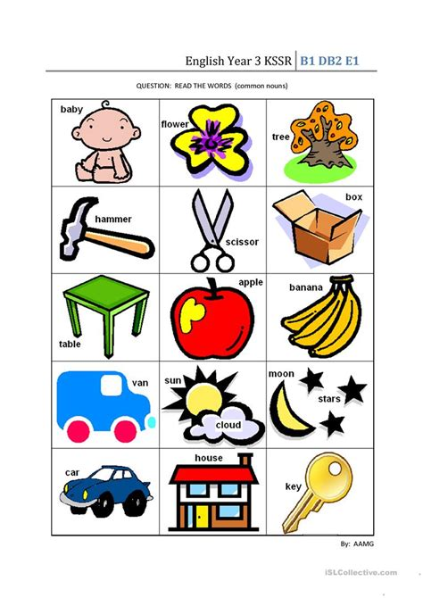 english year  kssr worksheet  esl printable