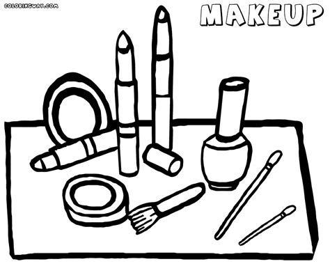 makeup coloring pages coloring pages to download and print