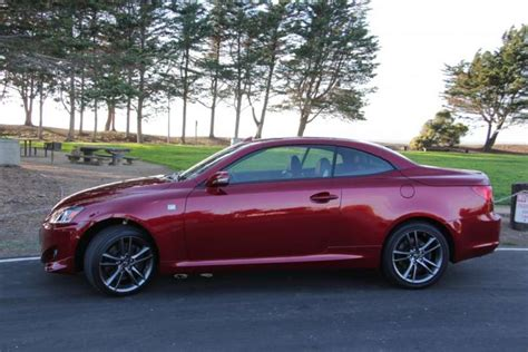 the 2014 lexus is350 hardtop convertible all photos by