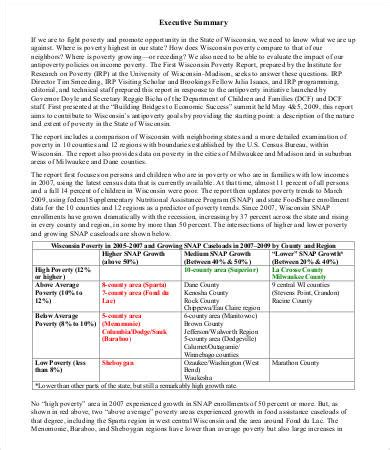 executive summary sle 9 free pdf word documents free premium templates