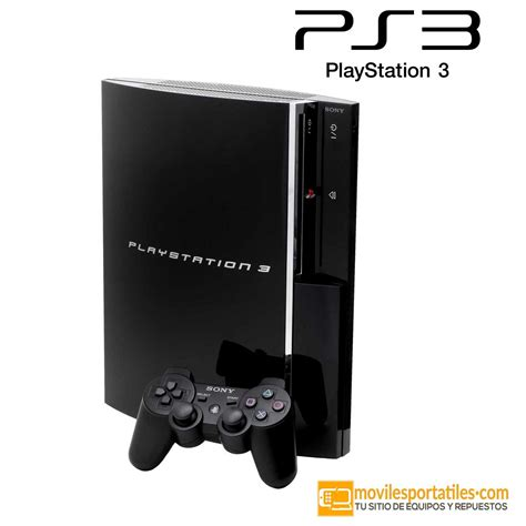 consola playstation 3 consola ps3 playstation 3 cechh04 40 gb negro mando