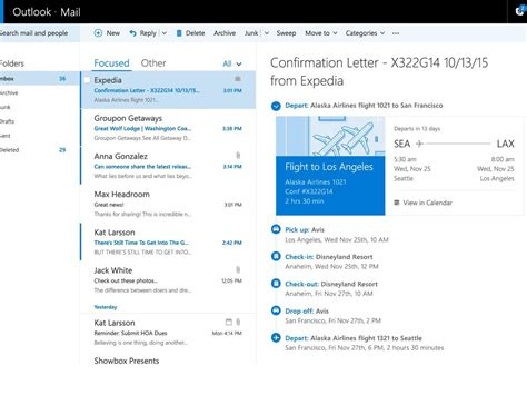 Office 365 Outlook Features Microsoft Is Rolling Out New Travel And Package Tracking
