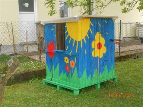 spielhaus bauen anleitung spielhaus f 252 r kinder oder recyceln paletten