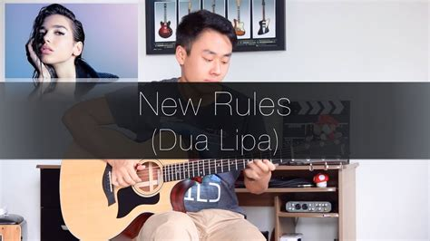 dua lipa new rules chords dua lipa new rules rodrigo yukio fingerstyle guitar