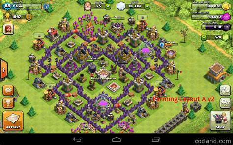 layout for town hall 7 the mantis best base layout for town hall 7 clash of clans
