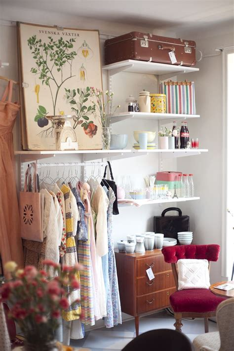 the little store of home decor create shelving closet at end of bed for guests use