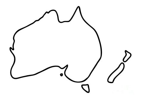 australia map drawing my blog