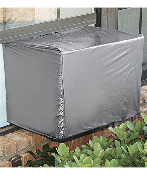 window unit cover air conditioners are expensive do not let fall and