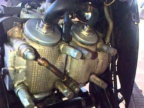 Mesin Motor yamaha mio 2silinder 2 mesin jadi 1mtor 260cc
