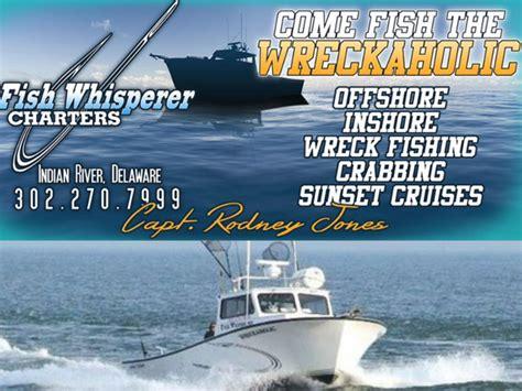charter boat fishing rehoboth beach fish whisperer charters visit delaware beaches