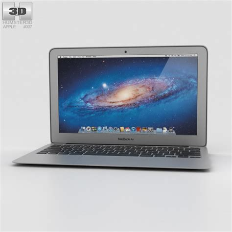 Macbook Air Replika apple macbook air 11 inch 3d model hum3d