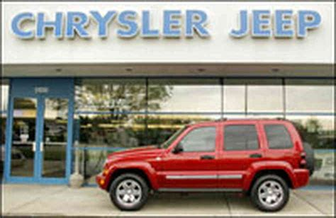 Mcinerney Chrysler Jeep Hide Caption A Chrysler Jeep Sits At A Chrysler Dealership