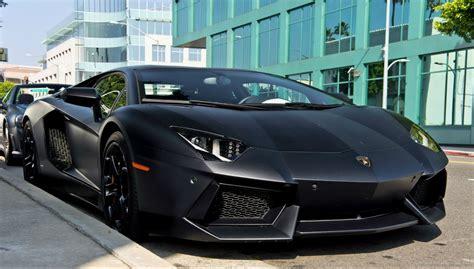 Lamborghini Aventador Black Matt by Lamborghini Aventador Matte Black Wallpaper