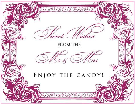 Candy Buffet Signs Templates Buffet Signs Templates