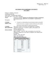 Snhu Syllabus Mba 501 Math And Stats For Business by For A Definition Of Academic Dishonesty Refer