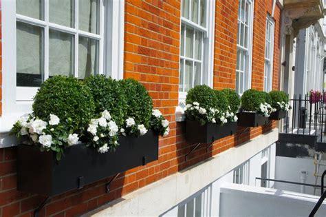 aluminum window box planters black metal window boxes mayfair window
