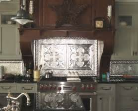 tin backsplash traditional tile faux kitchen tips build