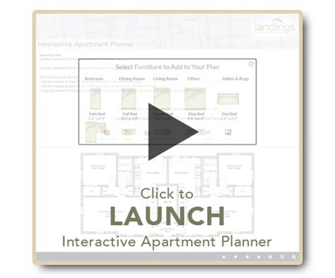 apartment planner click the graphic below to use our convient interactive