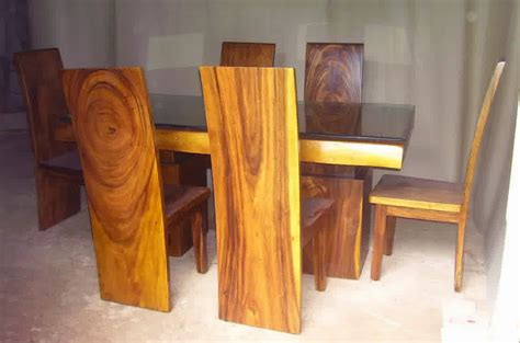 Kursi Dan Meja Sudut Kayu Jati Ukiran Khas Jepara Free Ongkir model meja makan kayu jati dengan sentuhan klasik