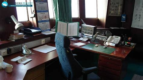 merchant navy captains cabin photo