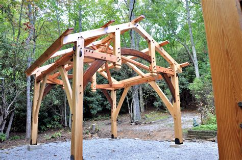 timber frame garden structures cashiers jpg