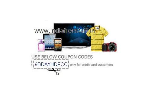 ebay coupon codes for hdfc credit card