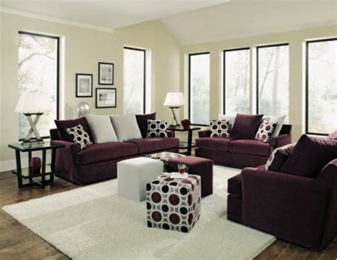 Plum Living Room Furniture by Radiance Plum 3 Pc Sofa Loveseat And Chair 1 2 Package