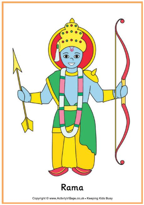 rama poster printable diwali printables for kids