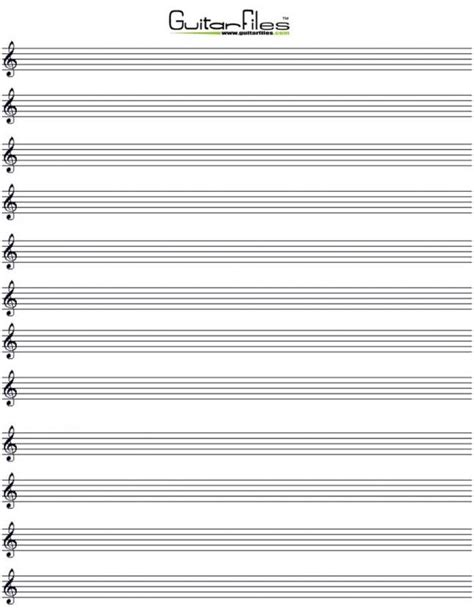 large printable pdf blank bass clef staff paper homeschool i