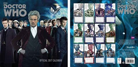 doctor who official annual 2018 books doctor who official classic 2017 square calendar