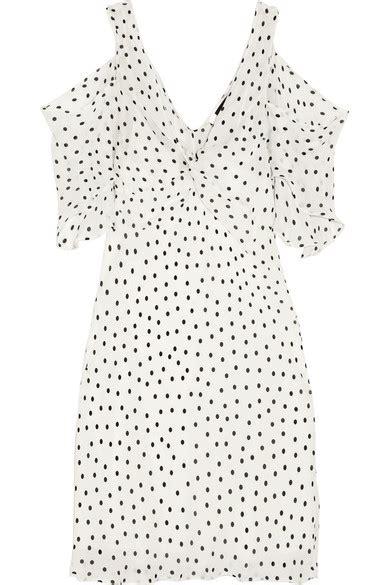 design pattern mcq mcq by alexander mcqueen polka dot shift dress modesens